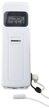 Clas Olsons trådlösa ESIC-termometer mäter inne och utetemperaturen samt luftfuktigheten och kan rapportera trådlöst.