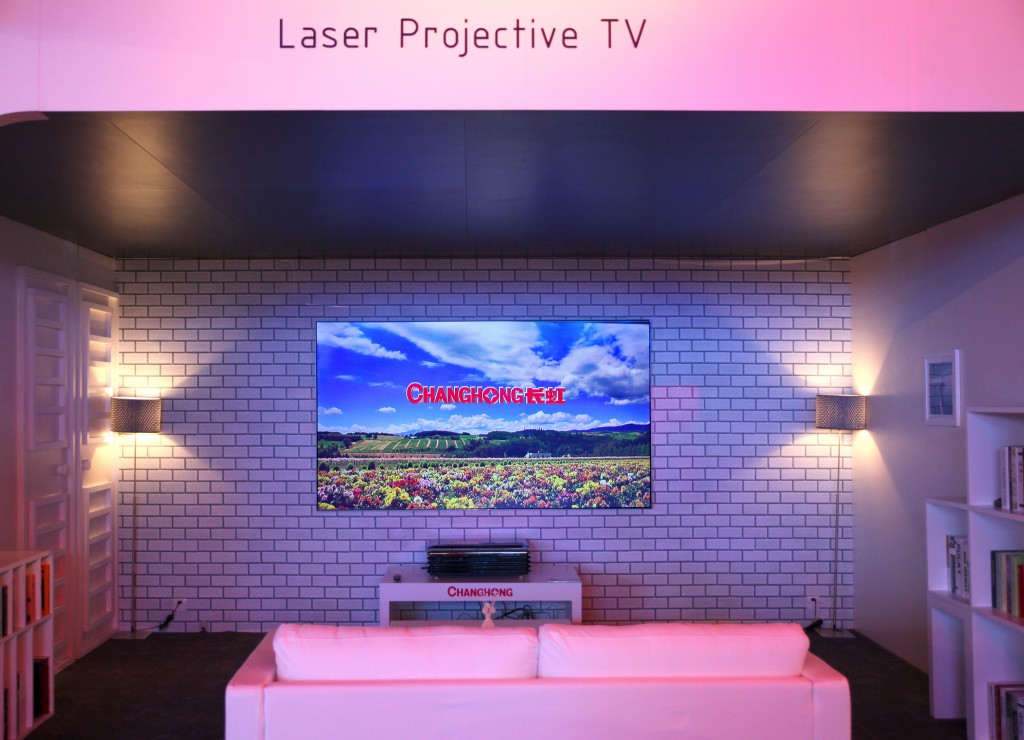 Changhong Laser Projective TV
