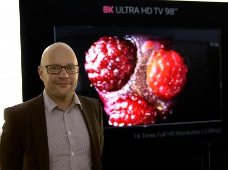 Christian Nilsson, LG Electronics, utbildare och produktspecialist