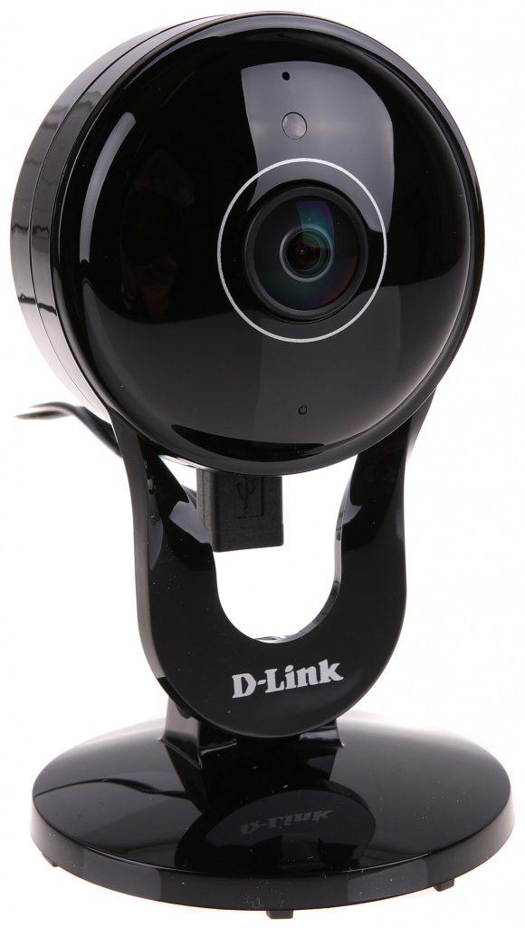 D-Link Wide Eye Full HD 180° Panoramic Camera (DCS-2530L) är en 1080p-kamera med en vidvinkellins som ger hela 180 graders synfält och som även kan lyssna och upptäcka rörelser.
