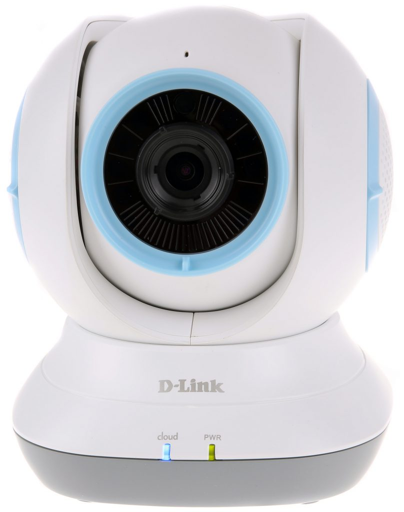 D-Link EyeOn Baby Monitor HD 360 (DCS-855) är en kamera som kan panoreras och användas som baby monitor då den även kan reagera på ljud, temperaturskiftningar och rörelser.
