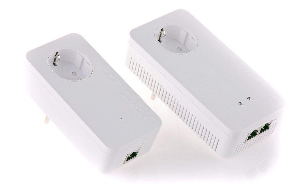 Devolo dLAN 1200+ WiFi ac är ett smart system för att försörja ett hushåll med snabbt internet genom att kombinera olika tekniker. Systemet övervakas och styrs av Devolos övervakningsprogram Cockpit som även rapporterar de interna överföringshastigheterna.
