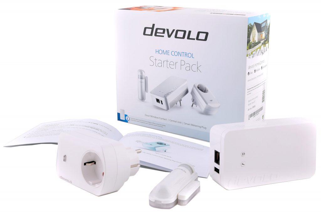 Devolo Home Control Startkit innehåller en bra grund med oväntat avancerade sensorer.