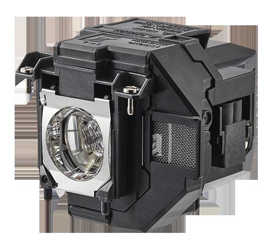 Aldrig mera pirat. Epsons originallampa klarar upp till 7 500 timmar och kostar bara 730 kr att ersätta. Under 10 öre i timmen alltså!