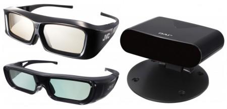 3D-förberedd innebär att projektorn är redo, men nödvändiga saker 3D-glasögon och synksändare är extra tillbehör som inte följer med i paketet.