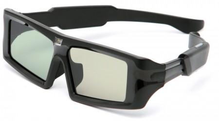 3D-glas följer inte med W7000, men kan köpas till för 1 000 kr paret.