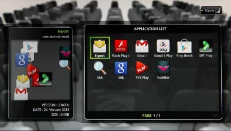 Inte så många appar från början, men du kan lägga till hur många du vill via Googles Play Butik.