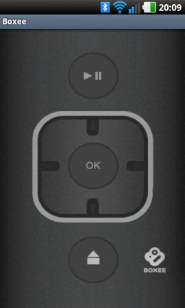 Det finns åtskilliga appar för att fjärrstyra Boxee Box med en smartphone, både för iPhone och Android.