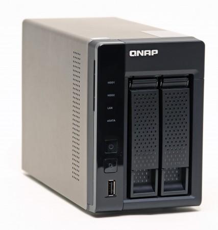 Qnap TS-269L, nu med HD Station som gör den till en mediespelare. Också.