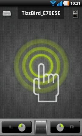 … eller använda TizzRemote – Tizzbirds fjärrkontroll-app för smartphones som både låter dig pekstyra och fjärrkontrollmanövrera medieboxen på mobilens pekskärm.