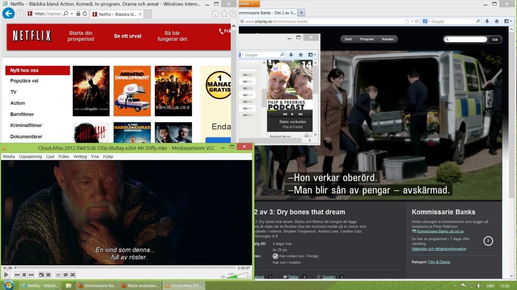 Med Windows 8 i NUC:en fungerar det mesta väl från början och du kan använda mediedatorn för all typ av underhållning. Samtidigt.