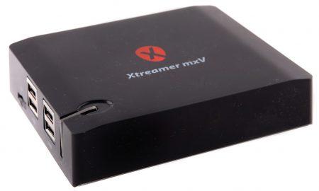 Xtreamer mxV Pro är en Ultra HD-mediespelare med möjlighet att ta emot och visa Ultra HD-tv via satellit, marknät och IP.