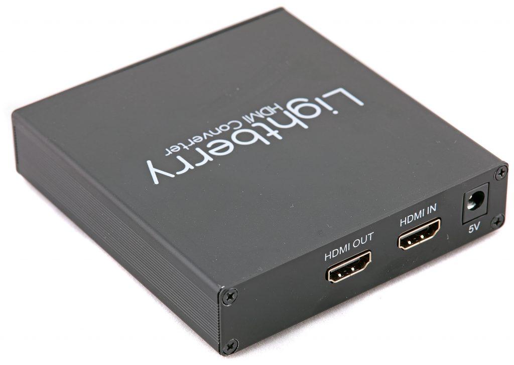 Med hjälp av Lightberrys HDMI 4.2 Kit kan du även tappa hdmi-förbindelser på bildinformation och använda detta för att styra Lightberrys ljusåtergivning från andra bildkällor än Pi:en. Hdmi-konvertern klarar HDMI 1.4a med upp till 4K@30Hz och kostar cirka 1 000 kr när den köps separat.