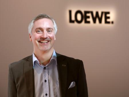 Mats Holmqvist, EET Europarts, svensk distributör för Loewe