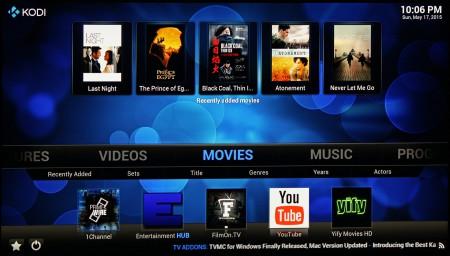 Med bra stöd för 4K/Ultra HD och hd-ljud verkar XBMC-baserade Kodi vara den bästa medieuppspelaren just nu.