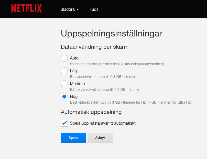 Himedia Q5 Pro hör dessvärre inte till de enheter som Netflix levererar Ultra-hd-film till. Än. Men Q5 Pro kan betydligt bättre än de 15 Mbit/s som Netflix strömmar sitt Ultra HD-material i.