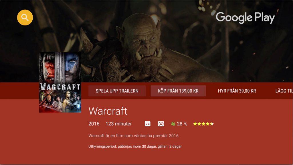 Google Play är en viktig källa till underhållning i Shield.