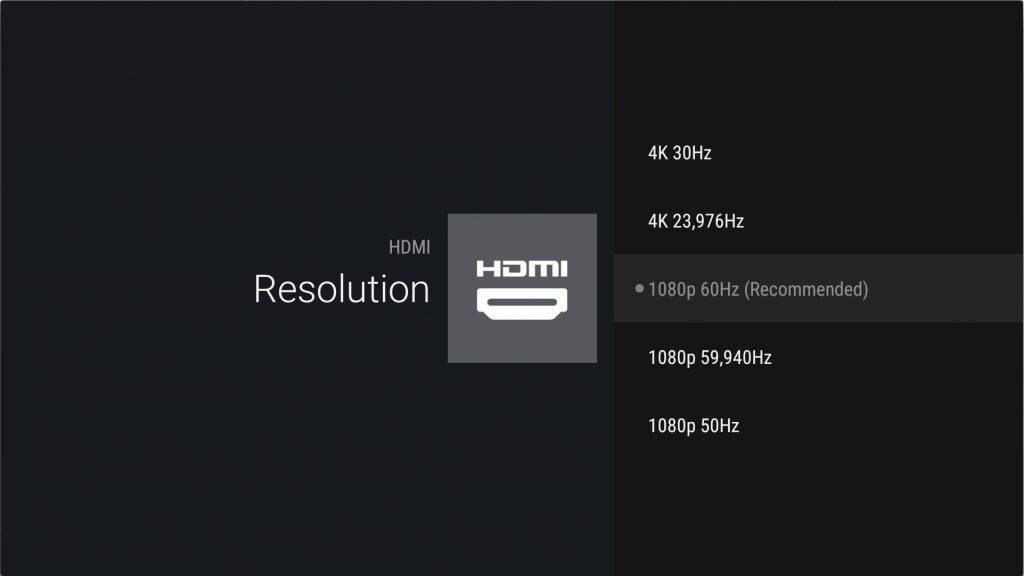 Nvidia Shield klarar 4K upp till 60 Hz och stegen där emellan har visat sig vara bra att ha beroende på hur innehållet är skapat.