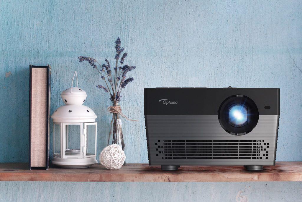 Optoma UHL55 är en smart hemprojektor med UHD-upplösning och LED-belysning.