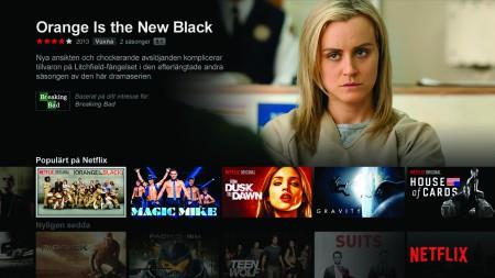 Via Netflix kan du redan nu titta på tv-serier och film i 4K-upplösning.