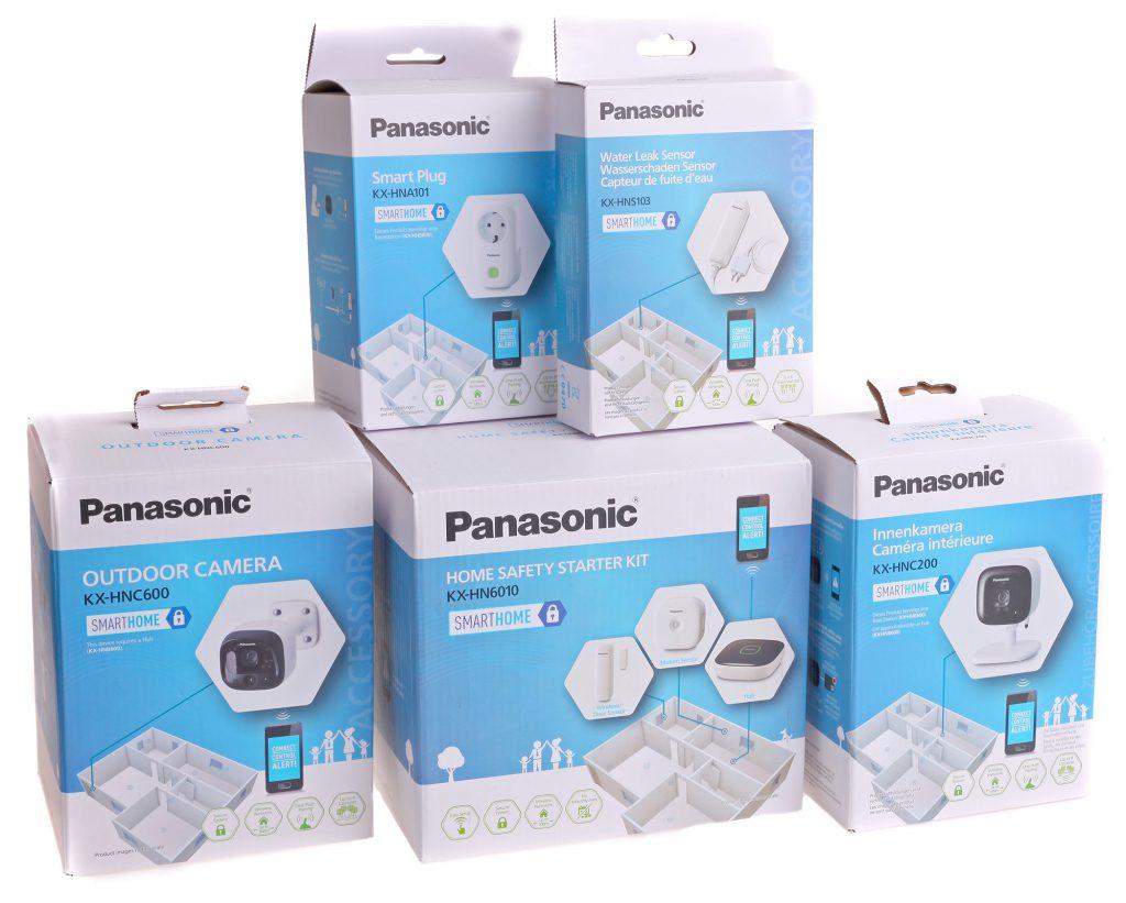 Panasonics Smart Home är en hel serie med olika smarta prylar som kan kopplas ihop till ett styr och hemövervakningssystem.