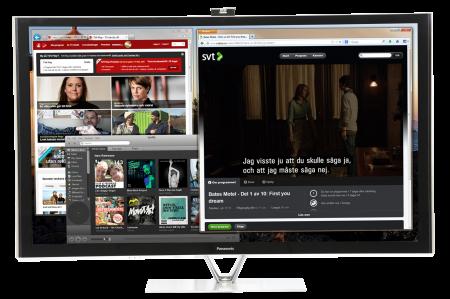Se play-tv och all annan datorunderhållning på tv via antennkabel.
