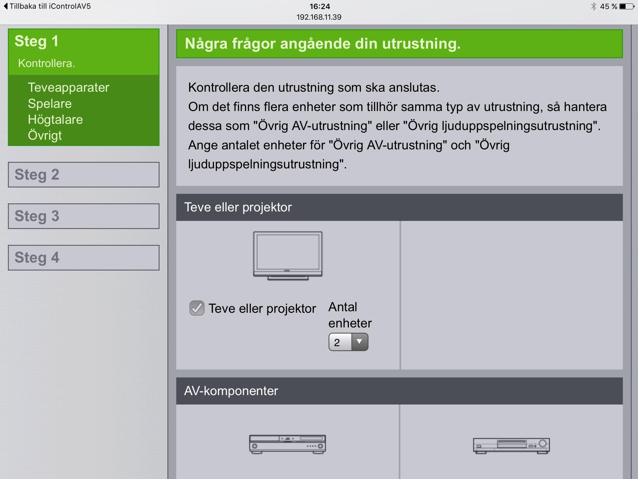 Pioneer har byggt in installationshjälp och användarhandbok i ett webbgränssnitt. När du kopplar receivern till ditt hemnätverk når du dessa från valfri webbläsare i hushållet.