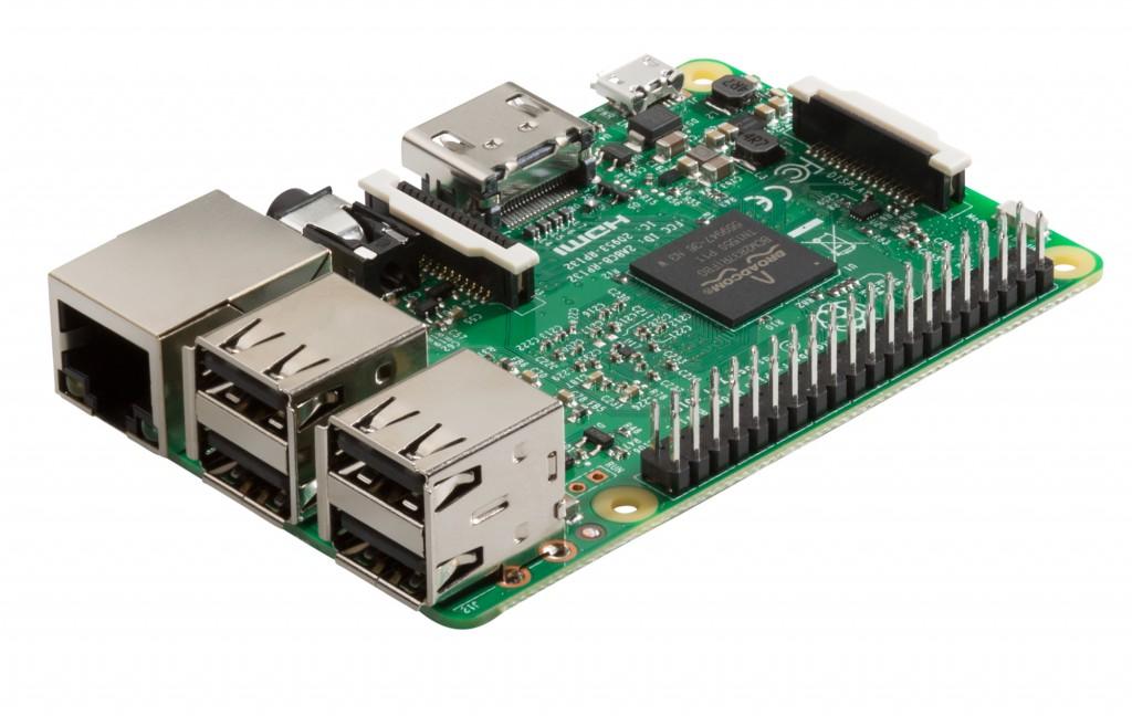 Nya Raspberry Pi 3 har samma utförande som föregångaren Pi 2, men har fått en snabbare processor och inbyggt stöd för wifi och Bluetooth.