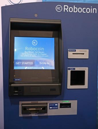Robocoin är en insättnings- och uttagsautomat där man kan växla Bitcoin mot vanliga pengar.