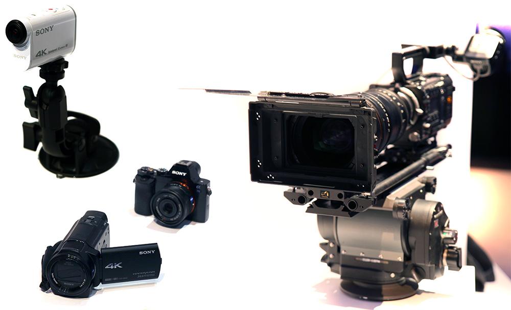 Allt fler tillverkare erbjuder nu 4K-kameror och hos Syno finns nu allt från proffskameror och 4K-filmande systemkameror till enklare handhållna videokameror och actionkameror med möjlighet till UHD/4K-filminspelning.