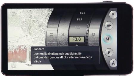 Samsung Galaxy Camera manuella inställningar