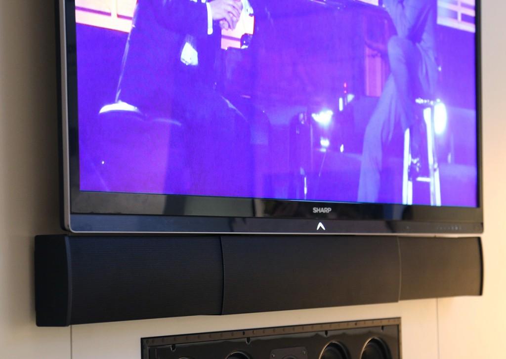 Sonance nya Soundbar är unik i sitt utförande eftersom man kan justera längden för att matcha sin TV:s bredd.