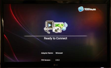 RTSD5000 är suveränt enkel att använda. Så fort den är igång är den redo för skärmdelning.