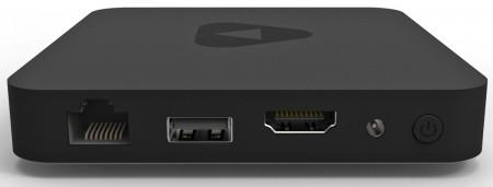 Nästan som en Apple TV, fast lite bredare och tunnare.
