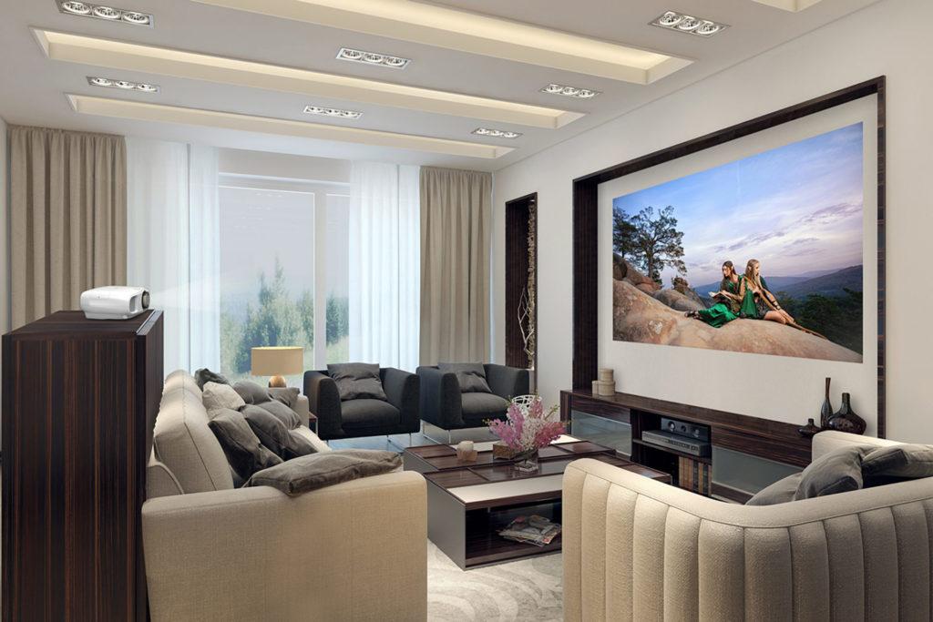 Epsons nya EH-TW7000 och EH-TW7100 är ljusstarka och gör sig mycket bra i ett vardagsrum.