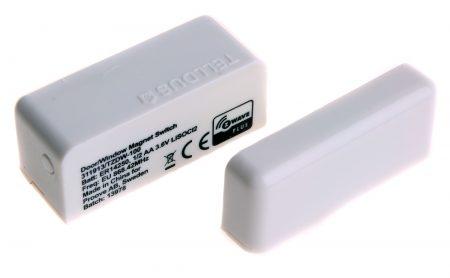En magnetsensor är mycket användbar för att känna av när någon öppnar och stänger en dörr eller ett fönster. Kombinerat med meddelandetjänster och strömbrytare kan den även användas för larmfunktioner.
