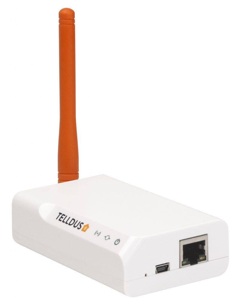 Med Telldus Tellstick ZNet Lite V2 som gateway får du även med stöd för Z-Wave och kan kombinera och styra ditt smarta hem med både 433 MHz och Z-Wave-prylar.