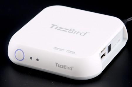 TizzBird S20T klarar det mesta oavsett om det strömmas, fjärrstyrs eller spelas i nätverk.