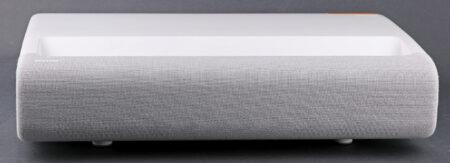 Samsung LSP9T:s framsida döljer ett 4.2-kanalers ljudsystem på totalt 40 W.
