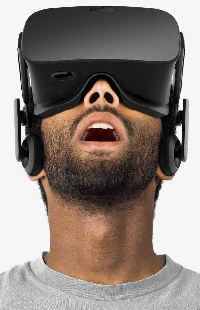 Oculus Rift är ett lite billigare alternativ med ungefär samma tekniska specifikationer som HTC Vive.