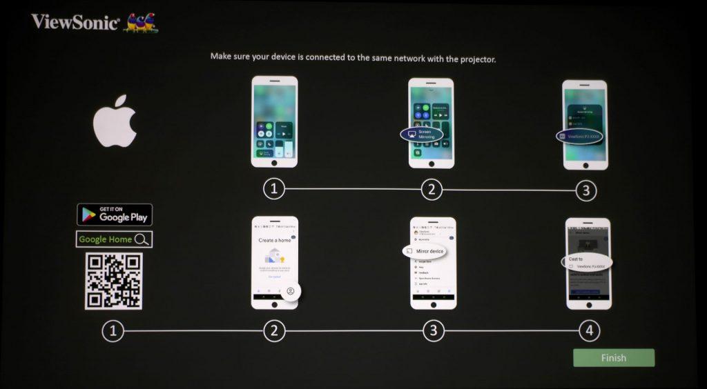 Se vad du vill – strömma direkt från telefon eller platta med IOS eller Android innanför västen.