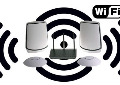 Snabbast WiFi med bäst räckvidd – Ubiquiti Unifi vs Orbi WiFi 6 Mesh System