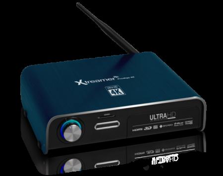 Xtreamer Prodigy 4K ser ut att ha vad som krävs för att hantera och spela upp Ultra-HD-material.