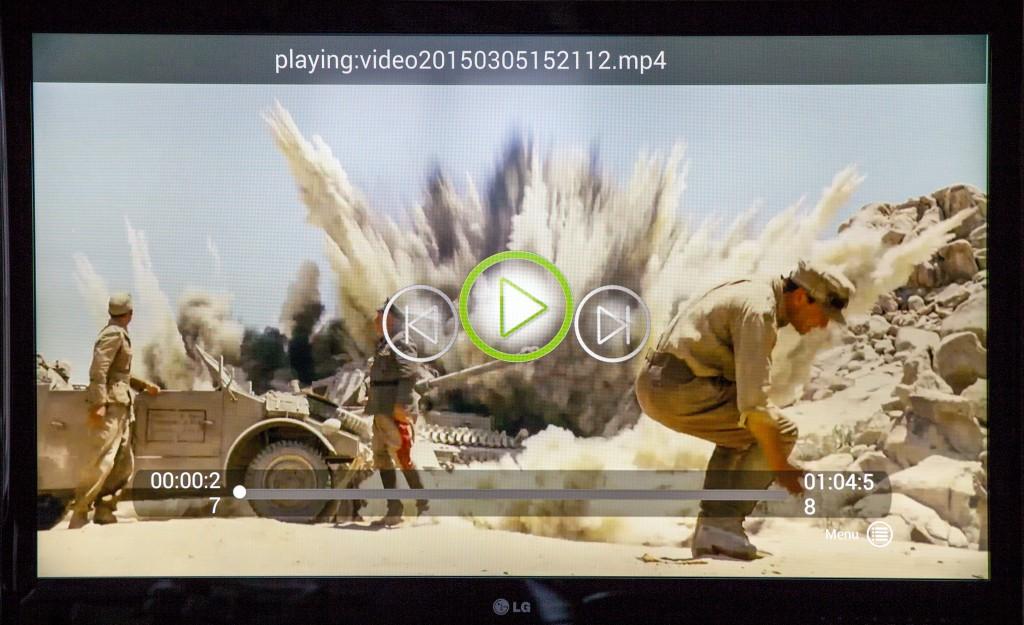 Xtreamer Prodigy 4K kan både spela in och spela upp HEVC-komprimerad film i upp till Ultra HD-upplösning på 3 840 x 2 160.