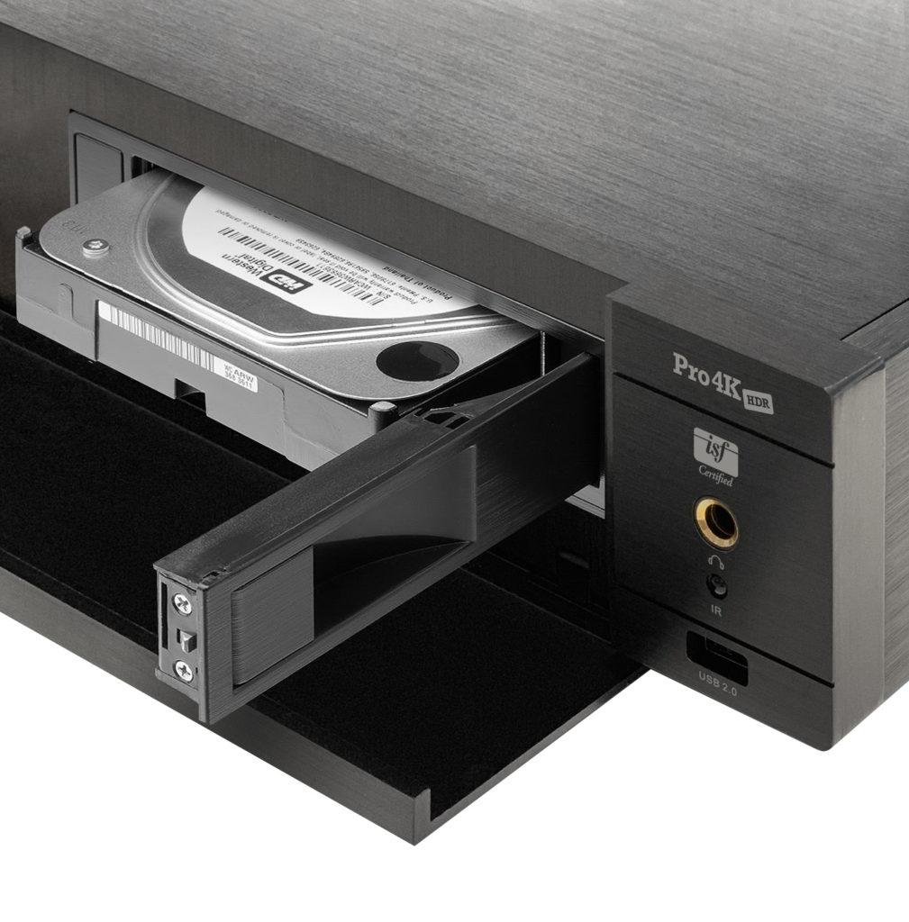 Zappiti Pro 4K HDR rymmer två 3,5-tums diskar och kan även ansluta ytterligare lagring via USB, både för att spela upp från och att spela in på.
