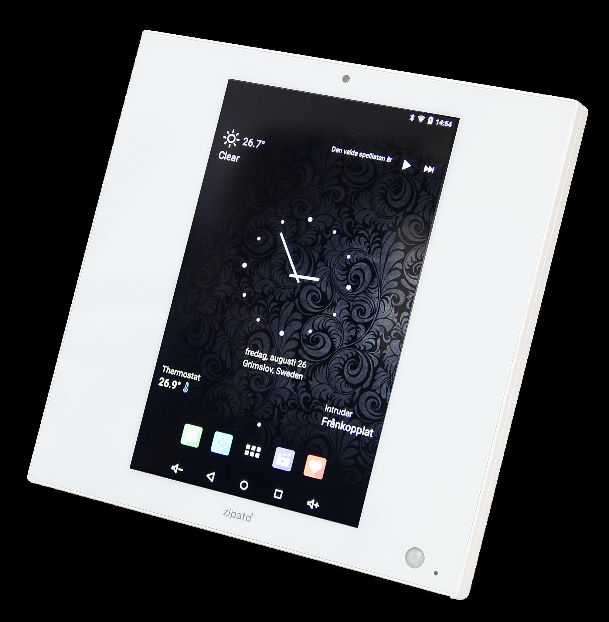 Zipato Zipatile – En smart skärm som räcker ovanligt långt