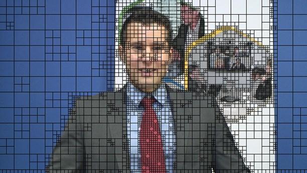 Hemligheten är att dela upp bilden i block, som i sin tur kan delas in i olika stora block. Foto: Mpeg Group.