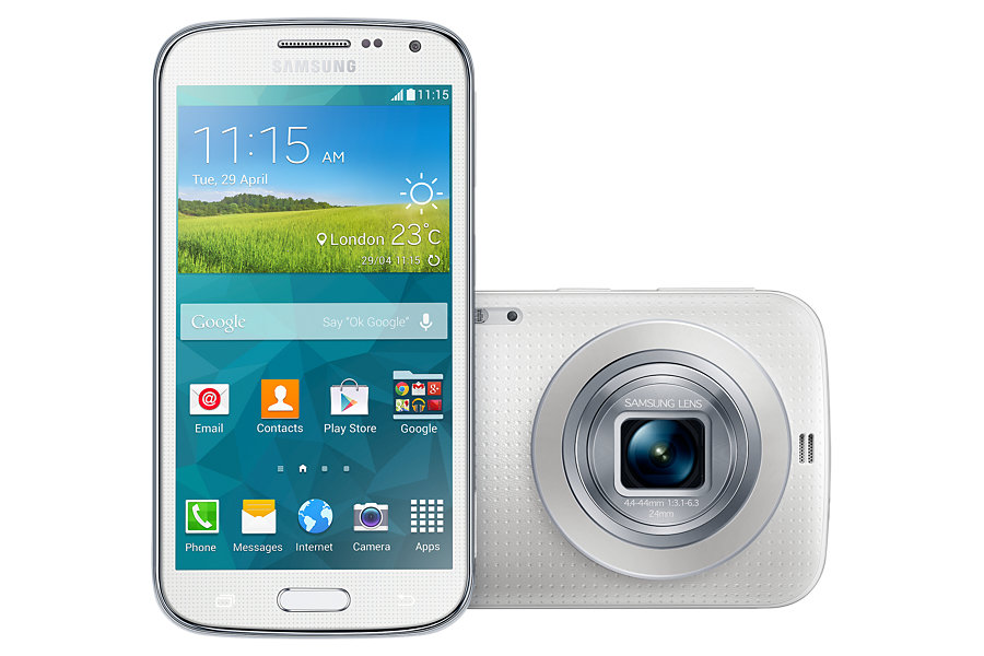 Samsung Galaxy K Zoom med 10x optisk zoom.