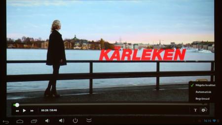 SVT Play och andra strömmande filmtjänster går fint att köra om du hämtar rätt app.